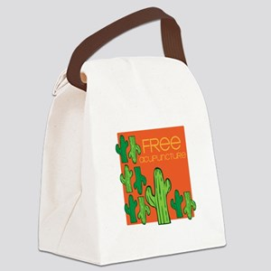 Free Acupuncture Canvas Lunch Bag