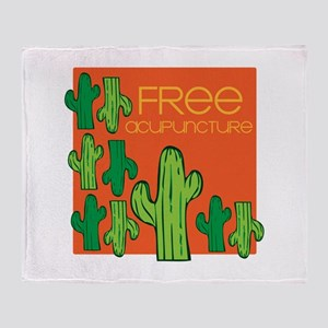 Free Acupuncture Throw Blanket
