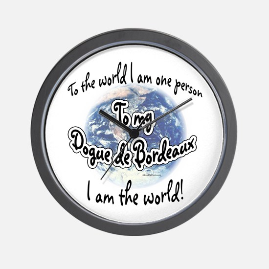 Dogue World2 Wall Clock