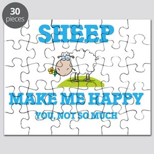 Sheep Make Me Happy Puzzle