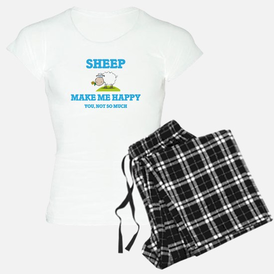 Sheep Make Me Happy Pajamas