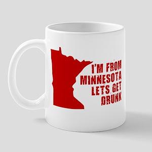 MINNESOTA FUNNY SHIRT LET'S G Mug