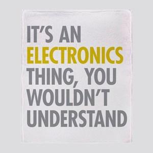 Its An Electronics Thing Throw Blanket