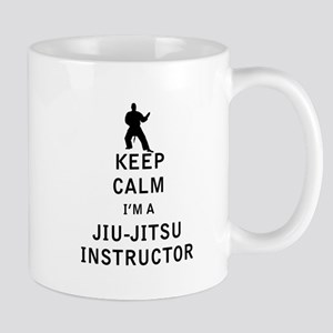 Keep Calm I'm a Jiu-Jitsu Instructor Mugs