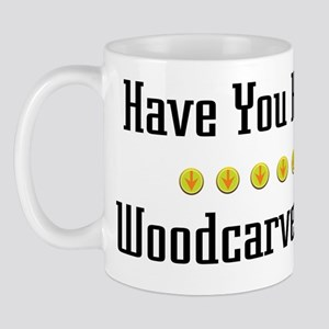 Hugged Woodcarver Mug