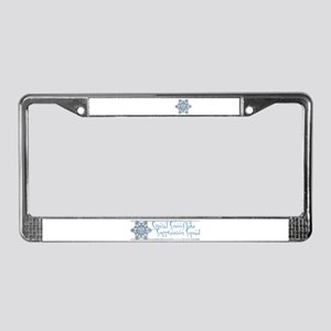 Special Snowflake Suppression License Plate Frame