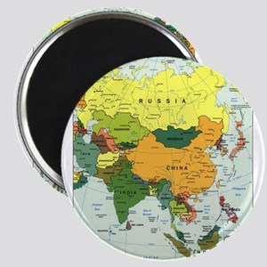 Asia Map Magnets