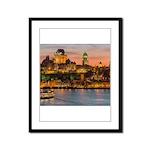Quebec City Framed Panel Print