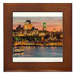 Quebec City Framed Tile