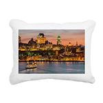 Quebec City Rectangular Canvas Pillow