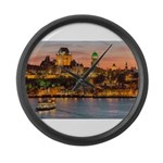 Quebec City Large Wall Clock