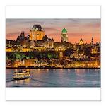 Quebec City Square Car Magnet 3