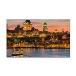 Quebec City Rectangle Car Magnet