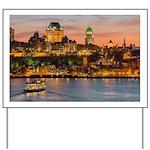 Quebec City Yard Sign