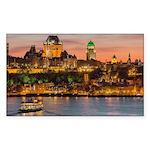 Quebec City Sticker