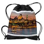Quebec City Drawstring Bag