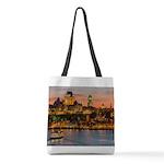 Quebec City Polyester Tote Bag