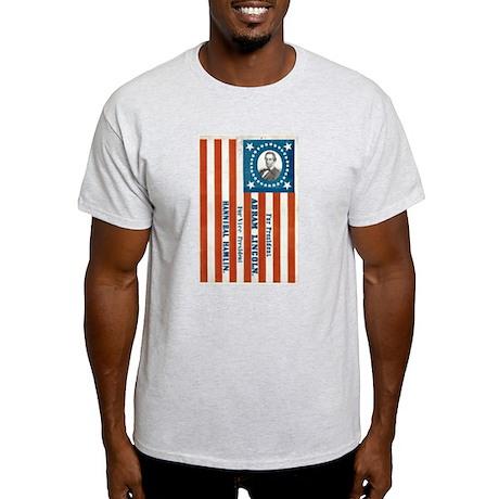 Lincoln for President Light T-Shirt