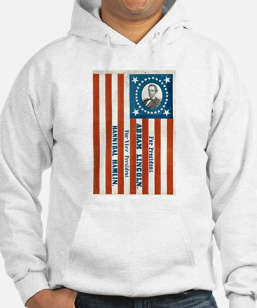 Lincoln for President Hoodie