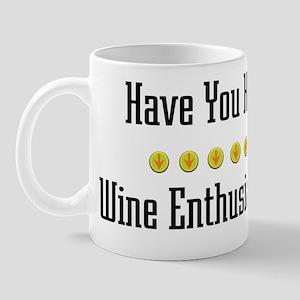Hugged Wine Enthusiast Mug