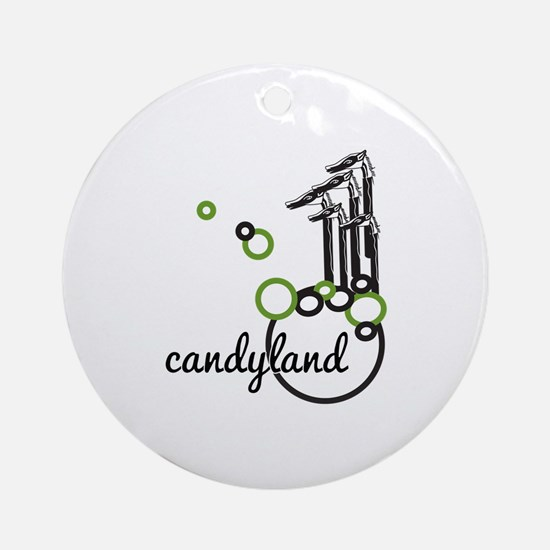Candyland Ornament (Round)