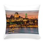 Quebec City Everyday Pillow