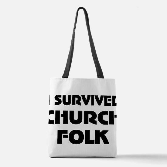 Anti-religion Polyester Tote Bag