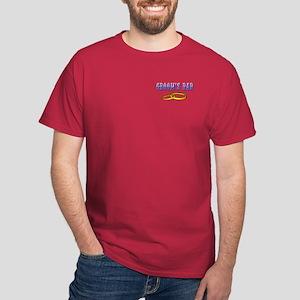 Groom's Dad (rings) Dark T-Shirt