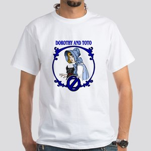 Dorothy and Toto White T-Shirt
