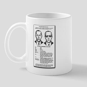 D B Cooper's  Mug