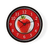 Desserts Wall Clocks