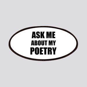 Ask me about my Poetry Patches