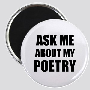 Ask me about my Poetry Magnets