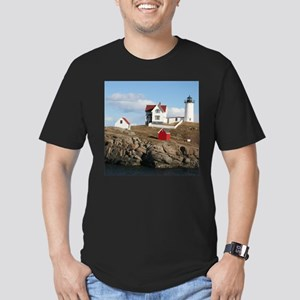 Nubble light Men's Fitted T-Shirt (dark)