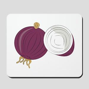 Purple Onion Mousepad