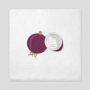 Purple Onion Queen Duvet