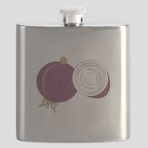 Purple Onion Flask