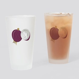Purple Onion Drinking Glass