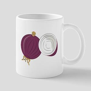 Purple Onion Mugs