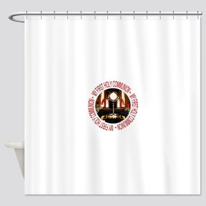 First Holy Communion Shower Curtain