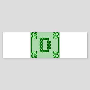 Celtic D Bumper Sticker