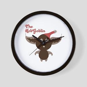 Hobgoblin Monster Wall Clock