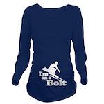 I'm on a Bolt Long Sleeve Maternity T-Shirt
