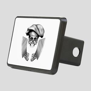 Chef skull: v1 Rectangular Hitch Cover