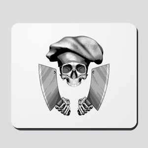Chef skull: v1 Mousepad