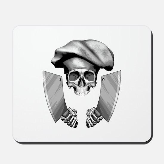 Chef skull: v1 Mousepad