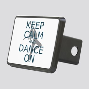 Keep Calm And Dance On Rectangular Hitch Cover