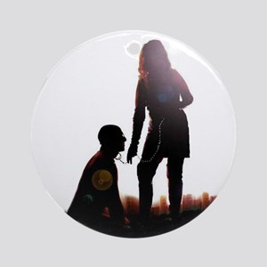 Mistress and slave Ornament (Round)