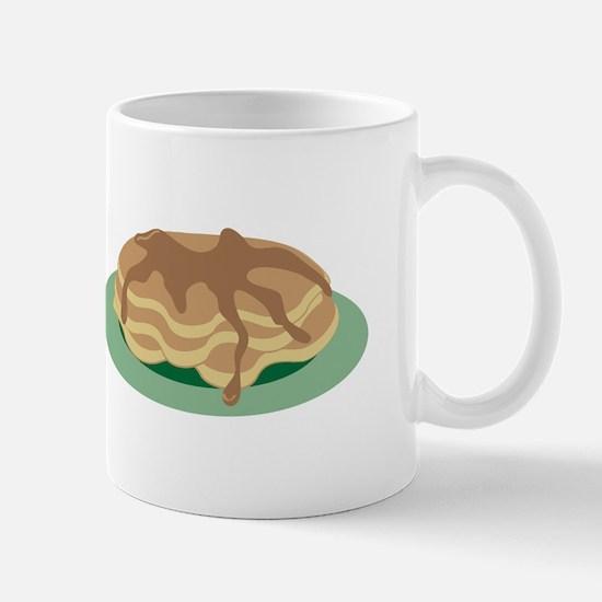Pancakes & Syrup Mugs