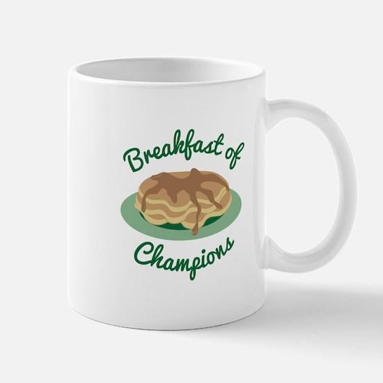 Breakfast Of Champs Mugs
